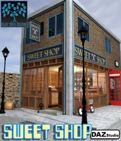 Sweet Shop for Daz Studio