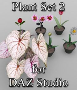 Plants Set 2 for DAZ Studio