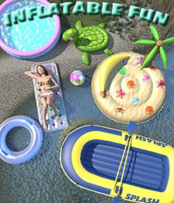 Summer series, Inflatable fun for Poser