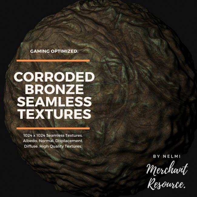 Corroded Bronze Textures - Merchant Resource