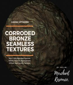 Corroded Bronze Textures- Merchant Resource