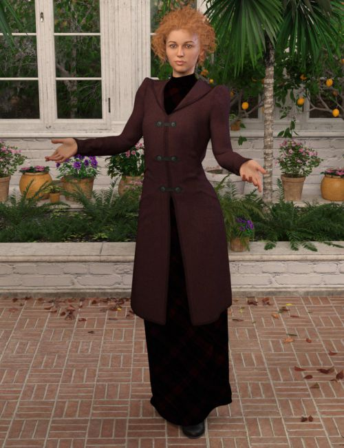 dForce Redgrave Outfit for Genesis 8 Female(s)