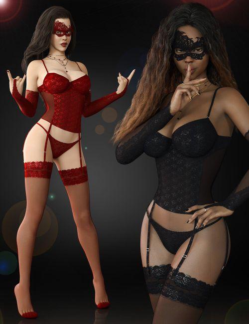 baf1f7a6828 ... 3Basic Corset Lingerie Set for Genesis 8 Females(s) ...