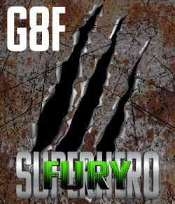 SuperHero Fury for G8F Volume 1