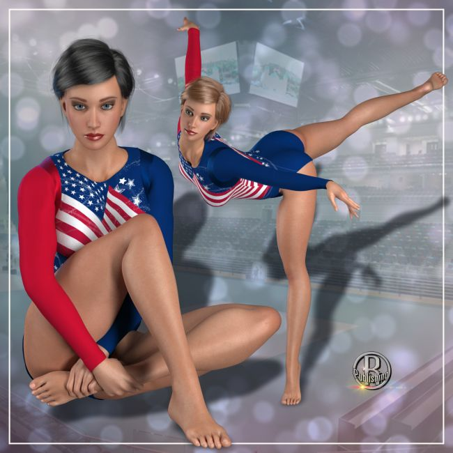 RP Olympic Leotard for La Femme