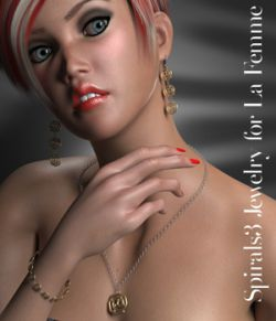 Spirals3 Jewelry for La Femme