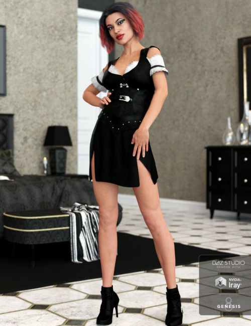 dForce Bellarose Outfit for Genesis 8 Female(s)