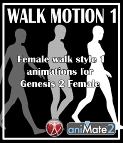 Walk Motion 1 for G2F