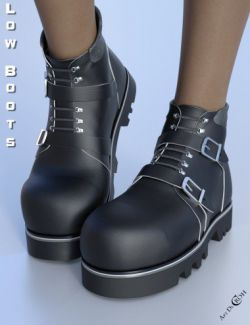 Low Boots for Genesis 8 Female(s)