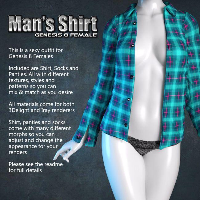 Exnem Man Shirt for G8 Female
