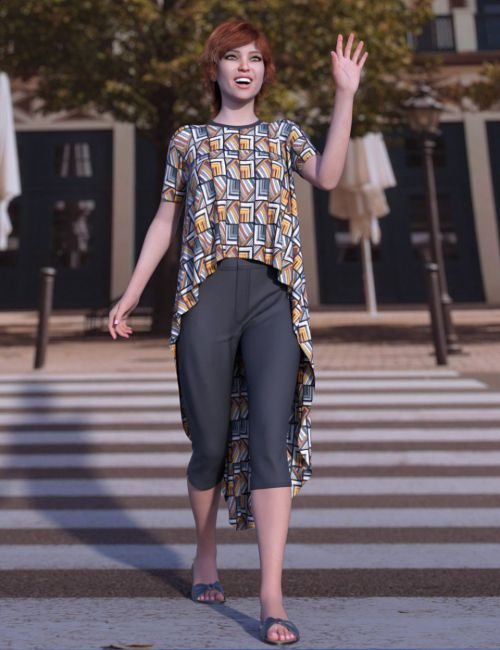 dForce Mellow Outfit for Genesis 8 Female(s)
