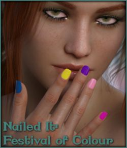 Nailed It 01: Festival of Colour L.I.E and Merchant Resource for G8F