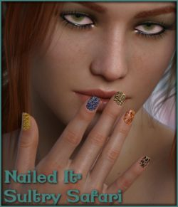 Nailed It 03: Sultry Safari L.I.E and Merchant Resource for G8F