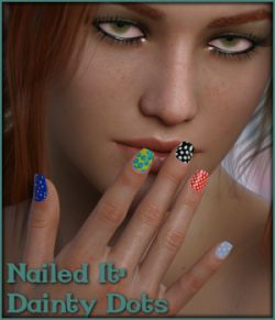 Nailed It 05: Dainty Dots L.I.E and Merchant Resource for G8F