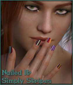 Nailed It 06: Simply Stripes L.I.E and Merchant Resource for G8F