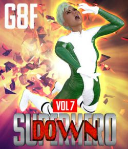 SuperHero Down for G8F Volume 7