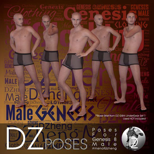 DZ G8M Fashion Poses