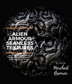 Alien Armour Seamless Textures- Merchant Resource
