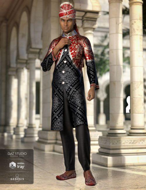 dForce Bollywood Groom for Genesis 8 Male(s)