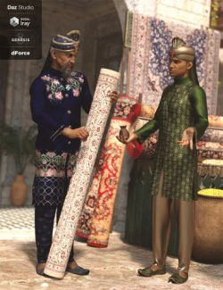 dForce Bollywood Groom Textures