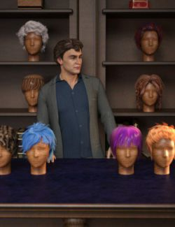RSSY Hair Converter from Genesis to Genesis 8 Male