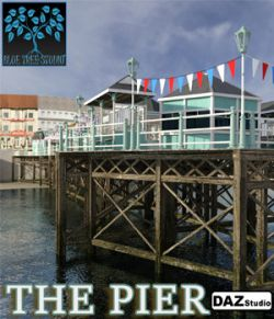 The Pier for Daz Studio