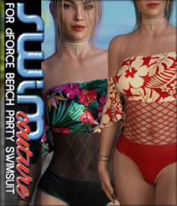 SWIM Couture for dForce Beach Party Swimsuit