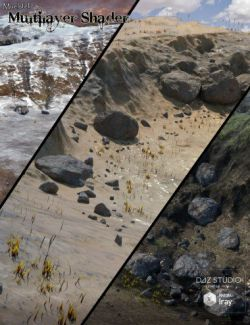 Muelsfell Multilayer Iray Terrain Shader