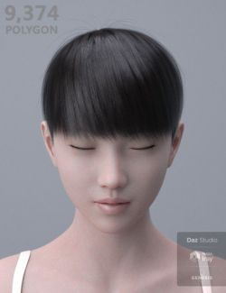 HY Short Hair for Genesis 3 and 8