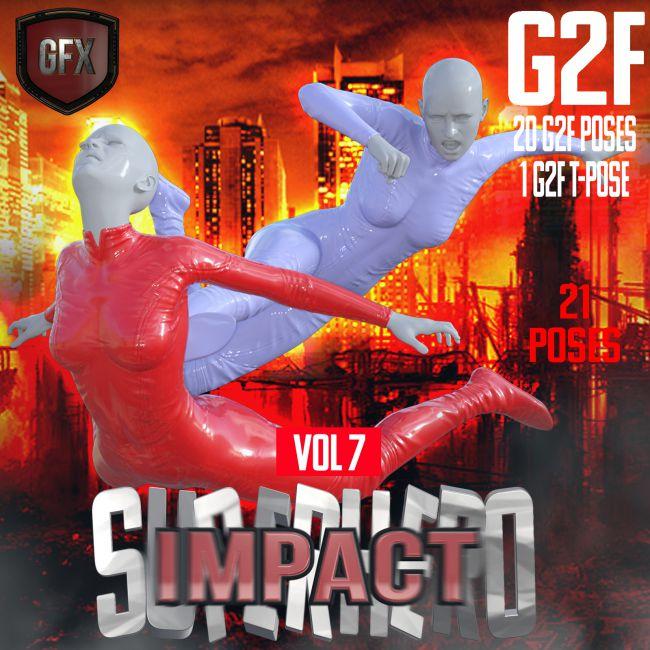 SuperHero Impact for G2F Volume 7