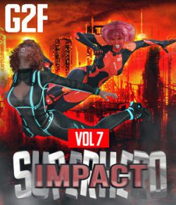 SuperHero Impact for G2F Volume 7