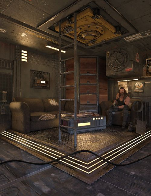 SciFi Living Room
