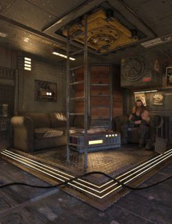 SciFi Living Room
