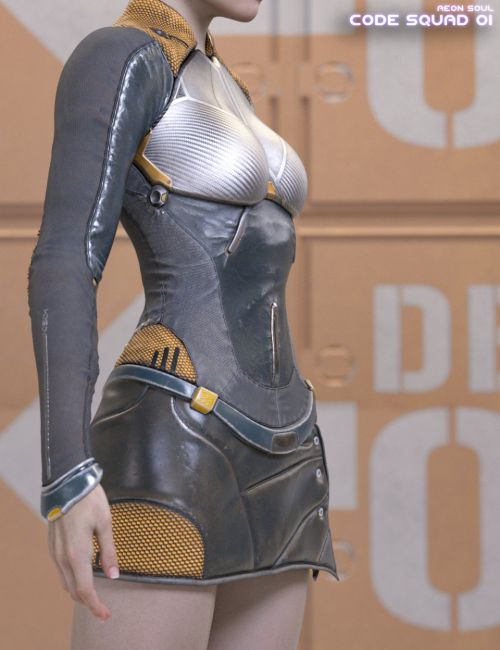 Code Squad 01 for Genesis 8 Female(s)