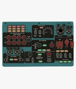 Mi-8MT Mi-17MT Central Overhead Board English- Extended License