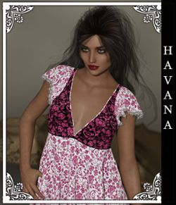 Havana for Handkerchief Dress