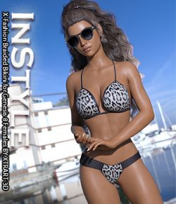 InStyle- X-Fashion Braided Bikini for Genesis 8 Females