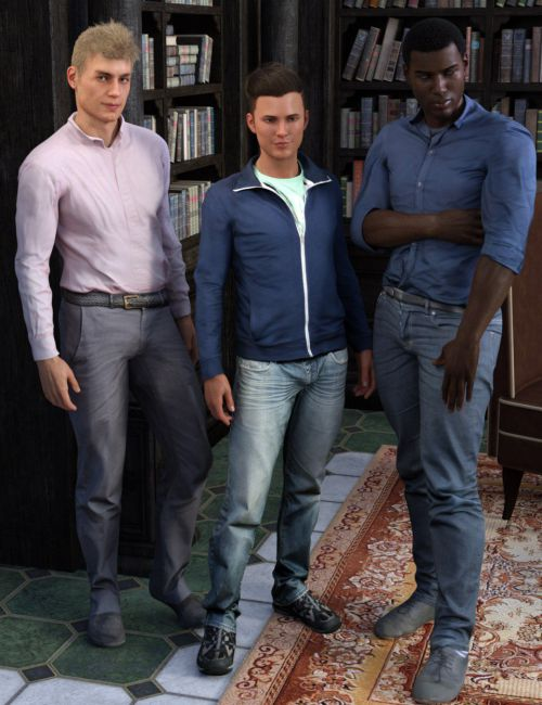 Casual Outfits for Genesis 8 Male(s)
