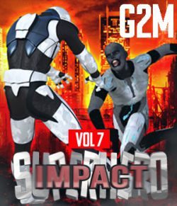 SuperHero Impact for G2M Volume 7