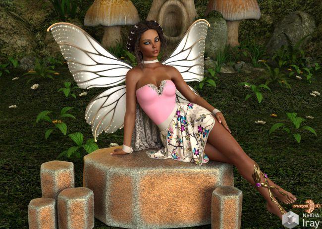 VERSUS - Fluttershy dForce outfit for Genesis 8 Females