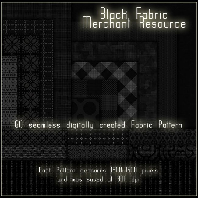 Black Fabric Merchant Resource