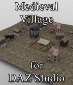 Medieval Village for DAZ Studio