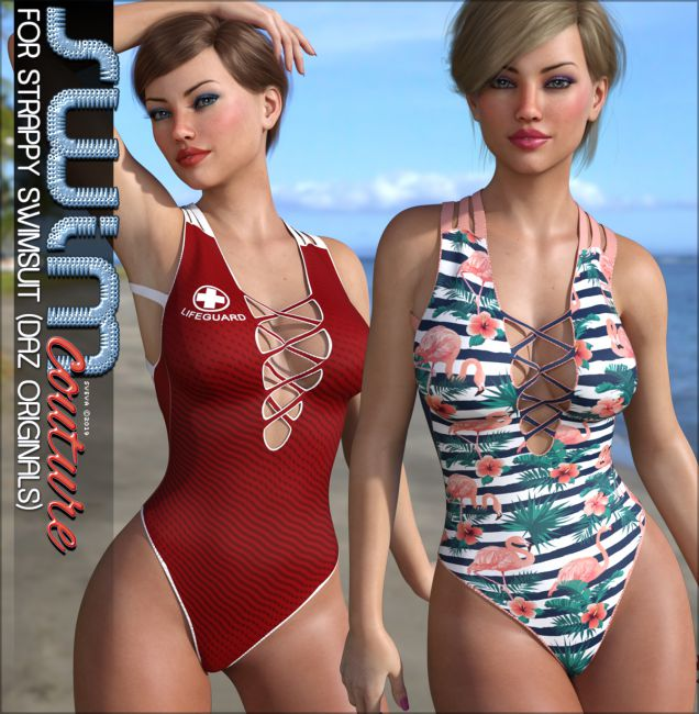 SWIM Couture for Strappy Swimsuit