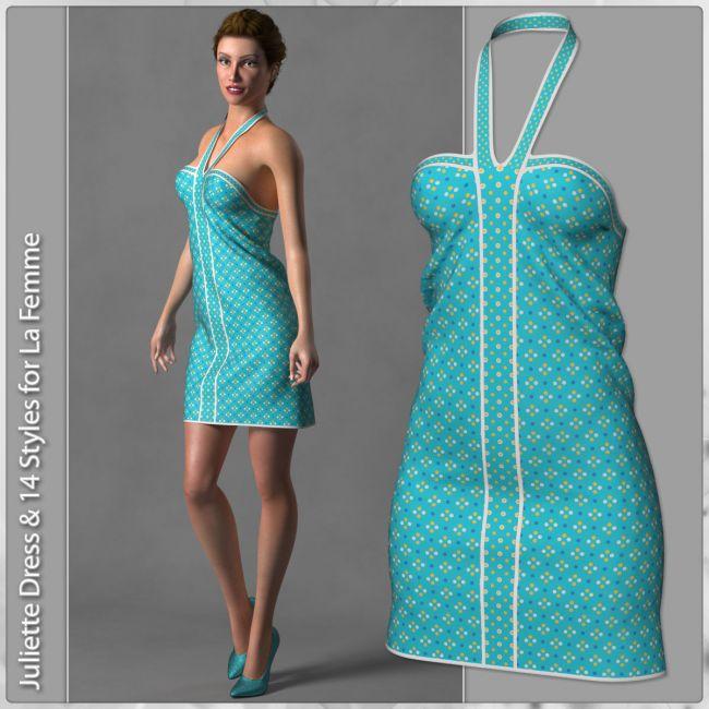 Juliette Dress and 14 Styles for La Femme