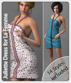 Juliette Dress and 14 Styles for La Femme