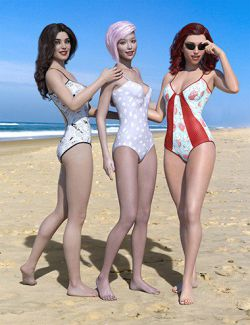 Dixie Swimwear for Genesis 8 Female(s)