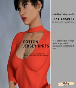Cotton Knits Iray Shaders- Merchant Resource