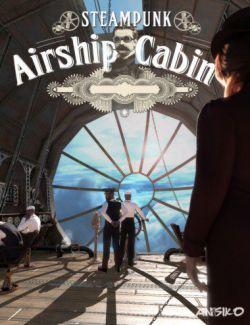 Steampunk Airship Cabin