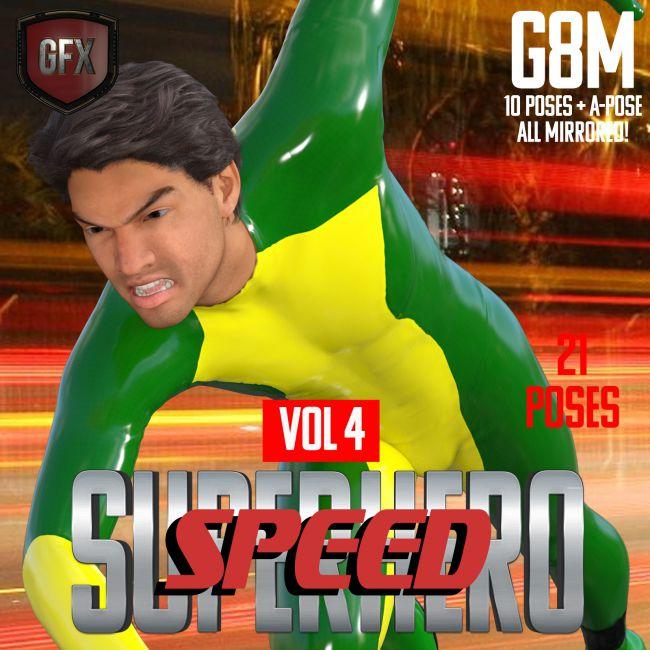 SuperHero Speed for G8M Volume 4