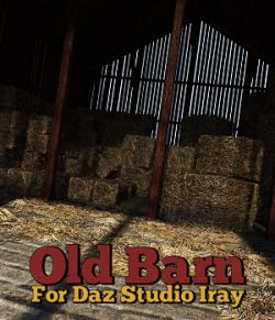 Old Barn for DS Iray